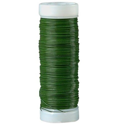 Efco Fil de Fer Vert pour fleuristes, 0,35 mm/100 g