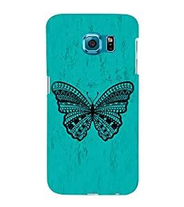 Graphical Butterfly 3D Hard Polycarbonate Designer Back Case Cover for Samsung Galaxy S6 Edge+ G928 :: Samsung Galaxy S6 Edge Plus G928F