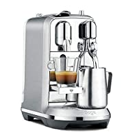 Nespresso creatista plus coffee machine Silver