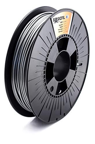 BASICFIL PET 1.75 mm, 500 gr filamento de impresión 3D, colores aleatorios