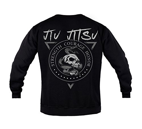 Rule Out Sweatshirt. Brazilian Jiu Jitsu. BJJ. Gym. Kampfkunst. Sportswear. MMA. Crewneck. Martial Arts. Casual(Größe Large)
