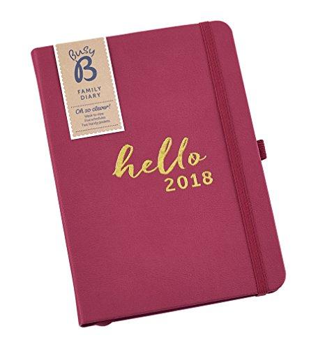 Busy B 2018 Family Diary