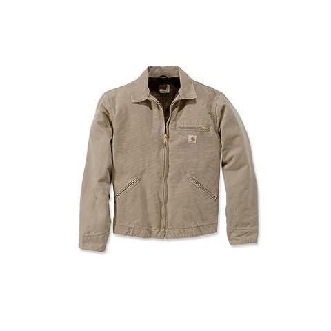 Carhartt .EJ097.266.S007 Sandstone Detroit Jacket, X-Large, Cottonwood