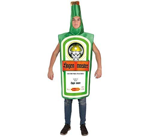 - Jager Flasche Kostüm