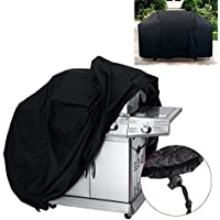 FENSHIJIE Barbecue Cover, Heavy Duty Oxford Cloth Waterproof & Dust-proof & Anti-UV Outdoor BBQ Grill Cover (Length:145cm/57 Width: 61cm/24 Height: 117cm/46) (145)