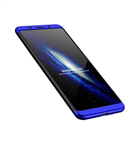 Case Huawei Mate10 Pro,3 in 1 360°Voller Schutz Deckel Huawei Mate10 pro Hüllen Mate10/P10 Lite (Blau, Huawei Mate10) (Oberen Deckel)
