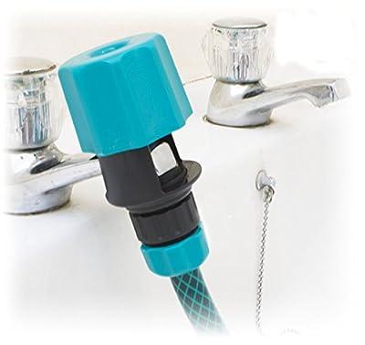 Toolzone Indoor Kitchen Mixer Tap Hose Pipe Connector