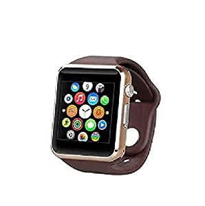 Webilla Stylish A1 Smart Watch with Camera, Calling Function, Bluetooth V3.0, Support SIM Card, SD Card, Compatible for HTC Desire 310 1GB RAM (Unisex Black Free Size)