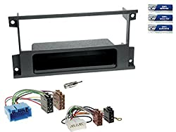 1-DIN Radio-Einbau-Komplettset Suzuki Liana / Ignis (Typ ER / MH/FH) ab 2000, schwarz