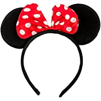 Haarreifen mit Maus Ohren Minnie Mouse mit Schleife