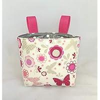 Lenkertasche/Laufradtasche/ Rollertasche/Betttasche für Kinder aus Baumwolle und Wachstuch