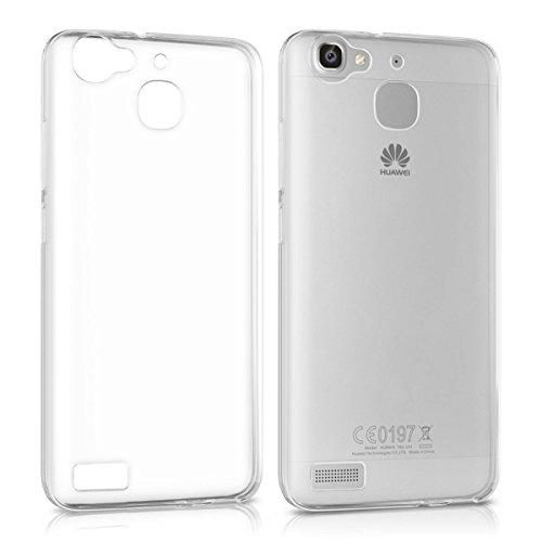 Huawei P8 Lite Smart Custodia [Non per P8 Lite], MENGGOOD TPU Cover Protettivo Morbido Sottile Trasparente Caso Copertura Cristallo Protezione Silicio Case per Huawei P8 Lite Smart -Antigraffio Bumper