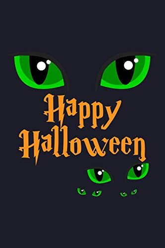 Happy Halloween: Blank Lined Journal to Write In - Ruled Writing Notebook (Happy Halloween Kitty)
