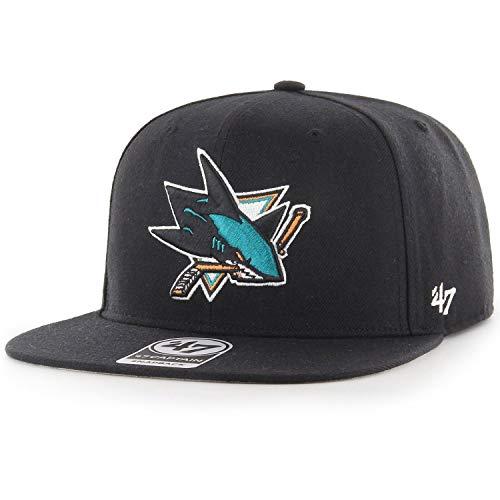 47 Brand Snapback Cap - Captain San Jose Sharks schwarz