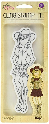 prima-marketing-foam-julie-nutting-mixed-media-cling-rubber-stamps-becky-cowgirl-2-inch-x-65-inch