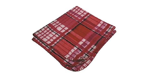 Red Tartan MY PETS Christmas Dog//Cat Blanket 100 x 140 cm