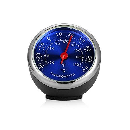 Volwco - Mini termómetro e higrómetro para Coche
