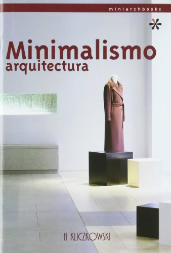 Minimalismo arquitectura (miniarchbooks)