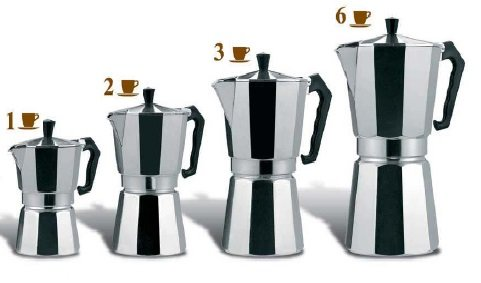 Espresso Top Coffee Maker Stove – Continental Mocha Percolator Pot 1, 2,3.6 41vU78OynML