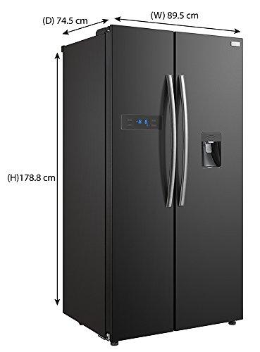 Russell Hobbs American Style Fridge Freezer 90cm Wide