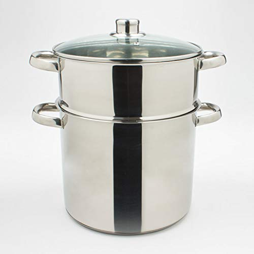 TABLE PASSION - Couscoussier inox 24 cm 9 litres