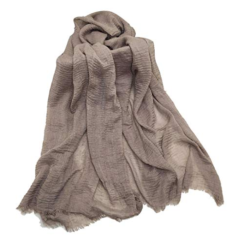 Imixcity 2 Pacchi Morbido Donne Sciarpa Avvolgere Scialle Canapa di Cotone Musulmano Hijab Musulmano Sciarpa Lunga Sciarpe di Testa