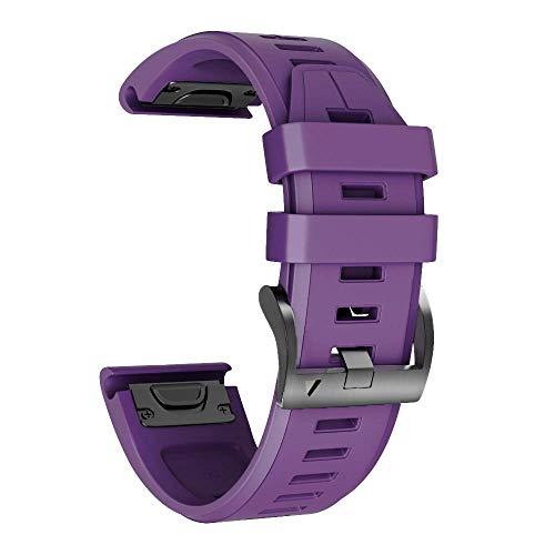 NotoCity Kompatibel mit Armband Fenix   3 26mm Silikonband Easy Fit für Fenix   5X / Fenix   5X Plus/Fenix   3 / Fenix   3 HR Ns 5 Band