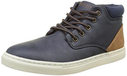 Kappa Cit, Chaussures Lacées Garçon Bleu (F11 Navy/Brown)