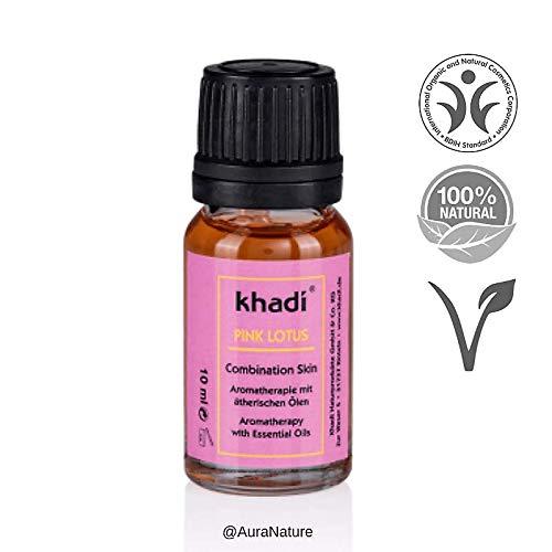 Khadi: Gesichts- und Körperöl Pink Lotus: Khadi: Groesse: Pink Lotus Öl 10 ml (10 ml) - Karotte Body Lotion