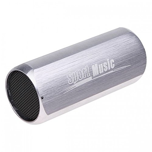 Kingzer portátil deportes música mini caja de sonido para Bicicleta MP3Player Altavoz...