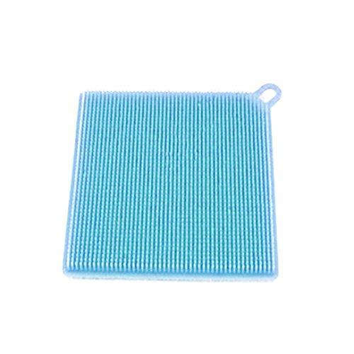 ten-Teller-Schmutz-Reinigung für Küchen-Badezimmer (Square, Blue) ()