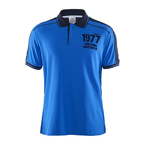 Craft craft3ao Noble Polo Herren bleu