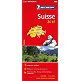Carte Suisse 2016 Michelin