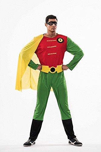 Imagen de disfraz de super robin adulto