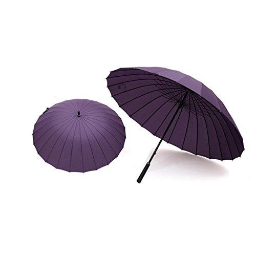 YA-Uzeun paraguas con 24 varillas, durable y lo suficientemente fuerte
