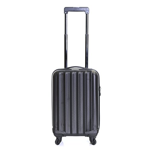 Karabar Monaco Cabin Approved Hard Suitcase (Black)