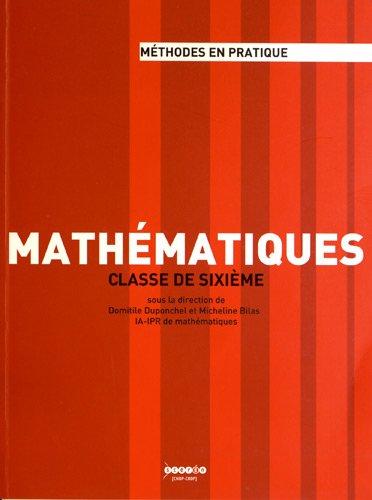 Mathématiques classe de sixième
