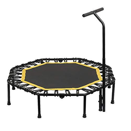 GCCLCF Kinetic Sports Fitness Trampolin Indoor Haustrampolin, faltbares Bungee, geeignet für Das Fitnessgewicht der Erwachsenen Kinder 150KG,L