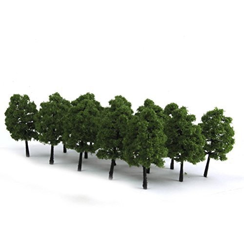 Rosenice landscape model trees for decoration 9cm - 20 pieces