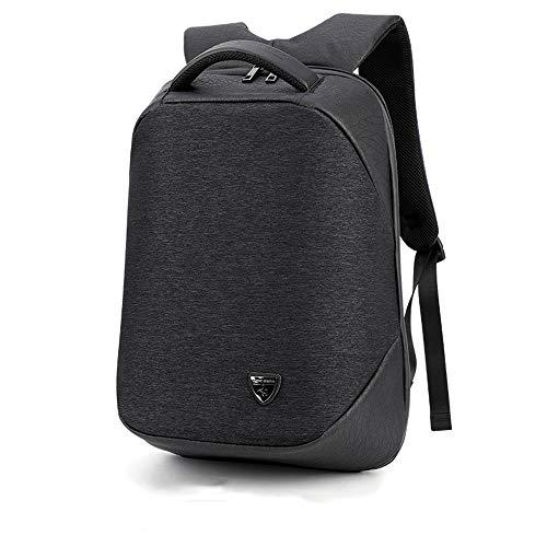 Reiserucksack, hohe Kapazität, tragbar, Tagesrucksack, Fluggenehmigung, erweiterbar, Wochenender, Mehrzweck-Tasche, Business-Rucksäcke mit USB-Ladeanschluss schwarz Schwarz