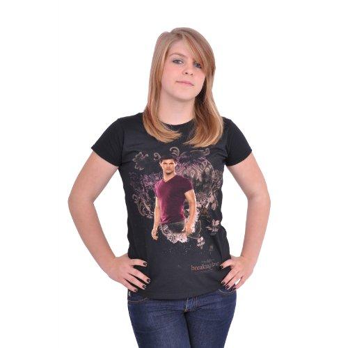 Preisvergleich Produktbild Offizielles Twilight Breaking Dawn Jacob Black Girlie Shirt, brandneu, figurnaher Schnitt - S