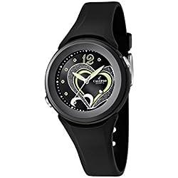 Calypso watches Mädchen-Armbanduhr Analog Kautschuk K5576/6