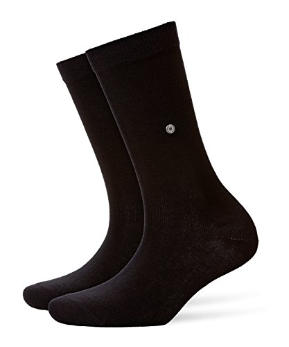 Burlington Damen Strick Socken Lady, Gr. 36/41, Schwarz (black 3000)