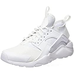 Nike Air Huarache Run Ultra GS, Scarpe Running Bambino, Bianco White 100, 36.5 EU