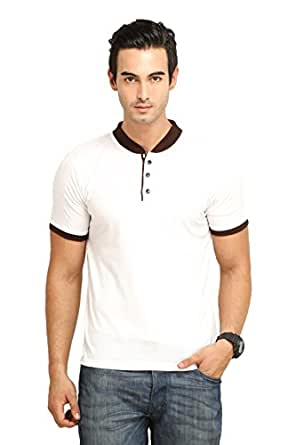 FIO Men's Mandarin Collar T-Shirt