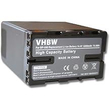Batteria LI-ION per Sony PMW-EX1, PMW-EX3, PMW-F3, PMW-100, PMW-150, PMW-160, PMW-200 sostituisce BP-U30, BP-U60, BP-U90, BP-U95 5200mAh 14.8V