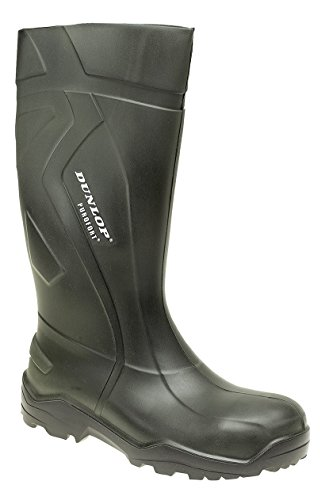 Dunlop Purofort + Full Safety Wellies. Safety Toe Cap & Steel Midsole. Durable, Light & Warm. UK Sizes 4-14