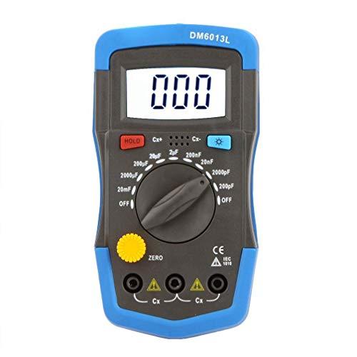REFURBISHHOUSE DM6013L Handheld Kapazitaetsmessgeraet Kondensator Meter w/LCD Hintergrundbeleuchtung
