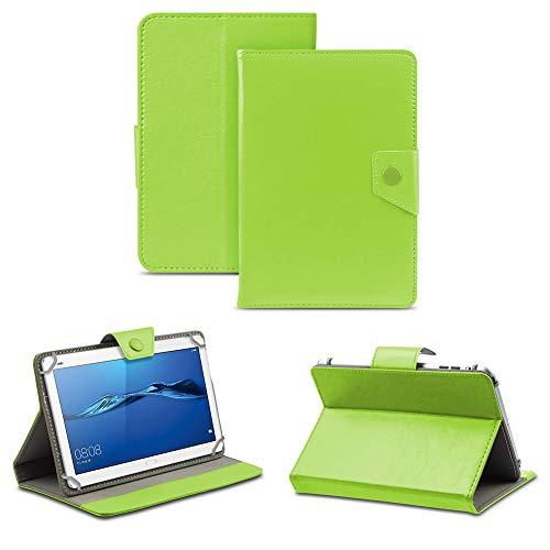 NAUC Schutz Hülle Huawei MediaPad M1 M3 8 Zoll Tablet Tasche Schutzhülle Case Cover, Farben:Grün