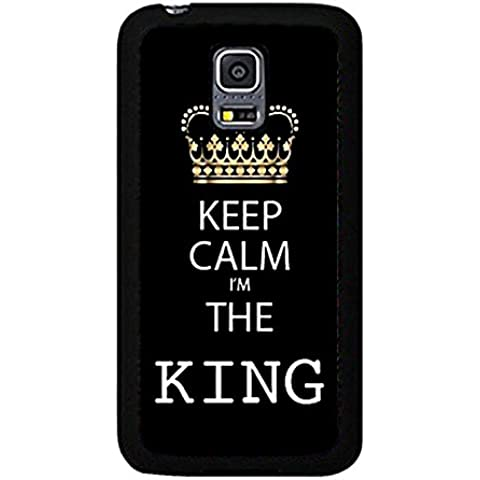 Best Friend Lovers Samsung Galaxy S5 Mini Case Hot Cool King and Queen Matching Couple Phone Case Cover for Samsung Galaxy S5 Mini Boyfriend and Girlfriend Couple Unique